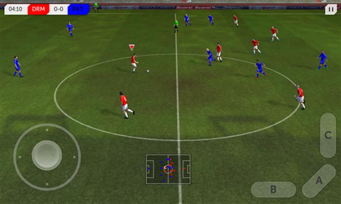Dream Soccer League é um game de futebol para Windows Phone com suporte a 512 MB de RAM (Foto: Divulgação/Windows Phone Store)