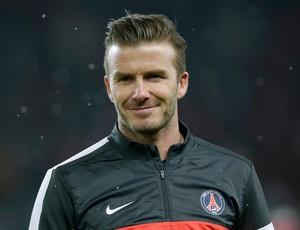 Beckham, PSG x Olympique de Marselha (Foto: Reuters)