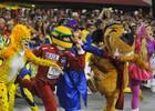 Tijuca acelera com tributo a Ayrton Senna (Alexandre Durão/G1)