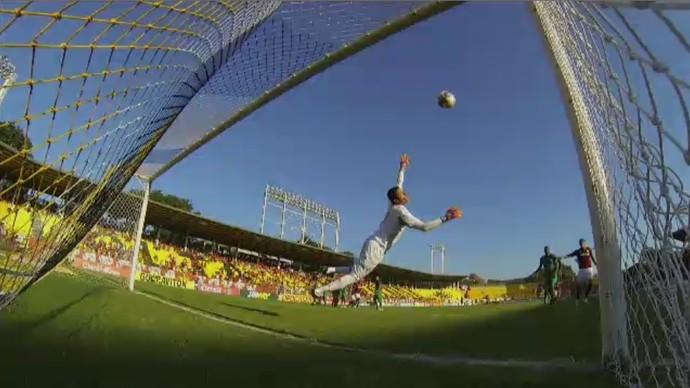 Mancuello Flamengo (Foto: Reprodução/SporTV)