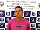 Suspeito de homicídio em Arapiraca é preso pela polícia de AL em Sergipe