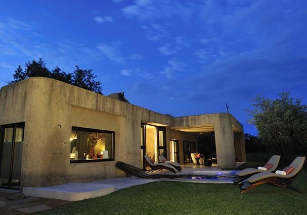 Earth Lodge, no Sabi Sabi Private Game Reserve (Foto: Divulgação)