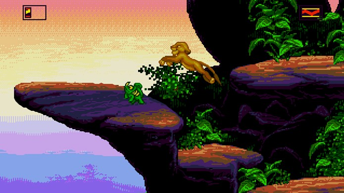 O Rei Leão introduziu a ideia de jogar com um personagem tanto na infância quanto adulto (Foto: Hobby Consolas)