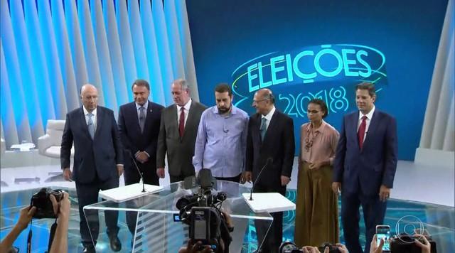 TV Globo realiza último debate entre candidatos à Presidência antes das eleições