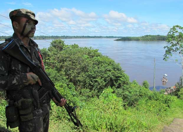 fronteira Amazônia (Foto: Tahiane Stochero/G1)