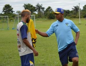 Elias Santana - interino do Rondoniense (Foto: Emanuele Madeira/GloboEsporte.com)