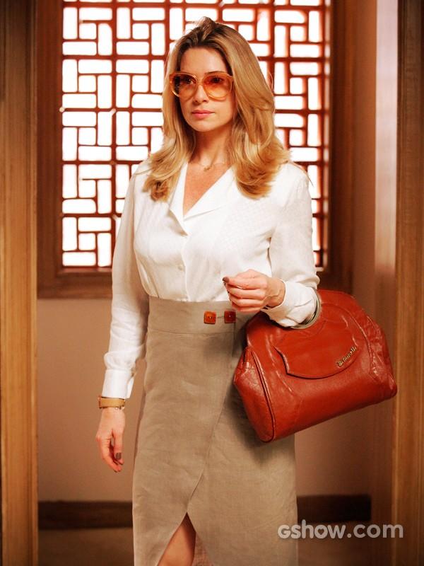 Letícia Spiller vai interpretar uma mãe solteira  (Foto: Raphael Dias/TV Globo)