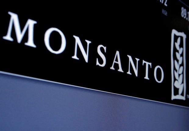 Logotipo da Monsanto é visto na Bolsa de Nova York (NYSE) (Foto: Brendan McDermid/Reuters)