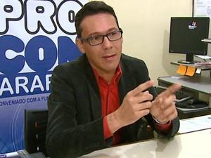 o coordenador do Procon de Araras, Kleber Luzetti (Foto: Ely Venâncio/ EPTV)