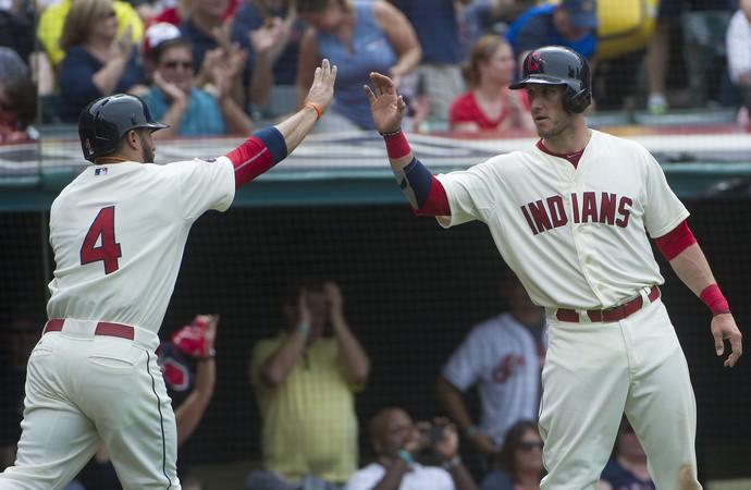 Yan Gomes, MLB Cleveland Indians (Foto: AP)