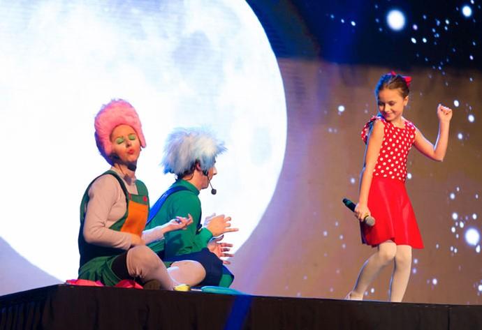 Rafa Gomes encantou o público no primeiro show depois do The Voice Kids (Foto: Eduardo Alexandre/CWB)