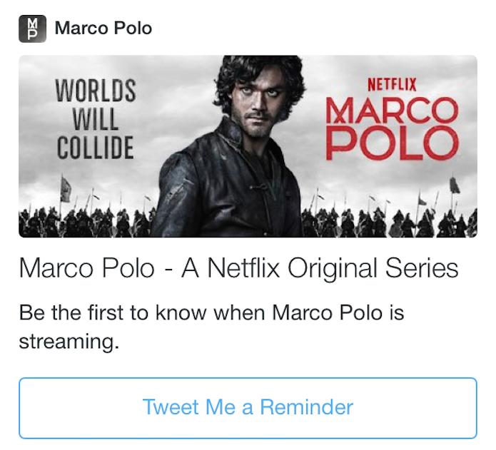 """Saiba quando um novo episódio de uma série estiver disponível com """"Tweet Me a Reminder"""" (Foto: Reprodução/Edivaldo Brito)"""