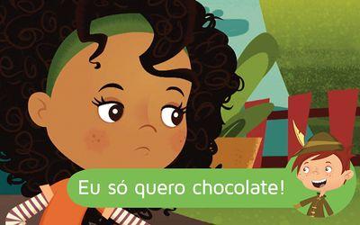Eu só quero chocolate!