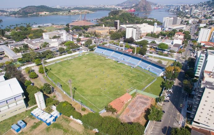 Estádio Salvador Costa, do Vitória-ES (Foto: Divulgação/Vitória FC)