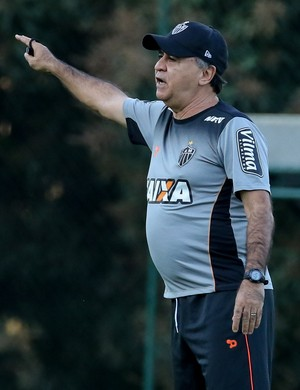 Marcelo Oliveira em treino do Atlético-MG (Foto: Bruno Cantini/Atlético MG)
