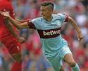 Ex-Flu decide, Coutinho é expulso, e West Ham bate o Liverpool em Anfield