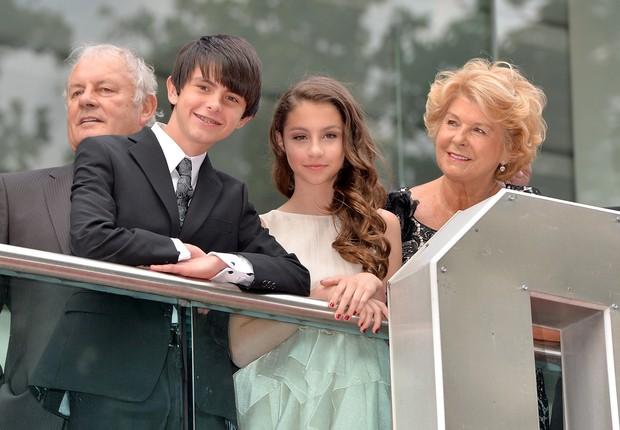 Dylan e Carys Douglas, os filhos de Catherine Zeta Jones e Michael Douglas  (Foto: Getty Image)