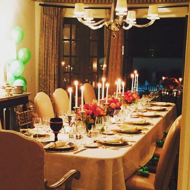 Jantar de aniversário de Sofia Vergara (Foto: Instagram/ Reprodução)