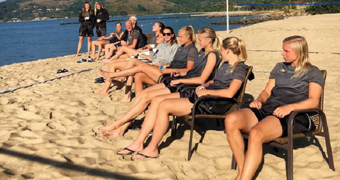 selecao sueca feminina futebol (Foto: Reprodução/Instagram)