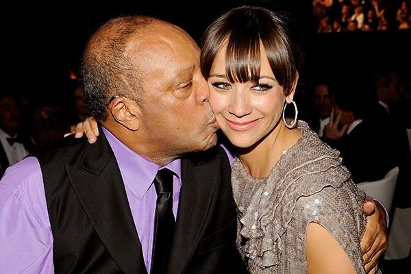 Quincy Jones e Rashida Jones (Foto: Getty Images)