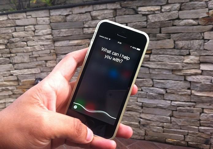 Como descobrir informações de uma música com a Siri do iOS? (Foto: Marvin Costa/TechTudo)
