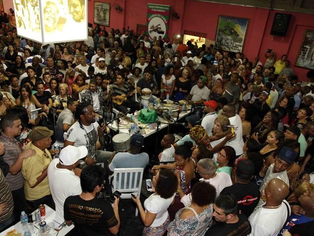 Roda de samba de raiz no Museu do Samba (Foto: Divulgação)