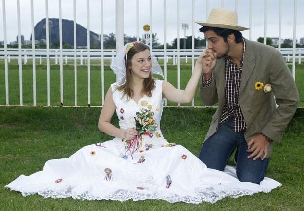 Alice Wegmann e Rodrigo Simas (Foto: Roberto Filho/AgNews)