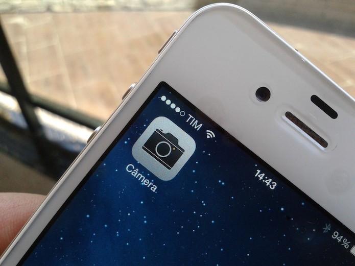 Como tirar fotos durante uma gravação de vídeo no iOS? (Foto: Marvin Costa/TechTudo)
