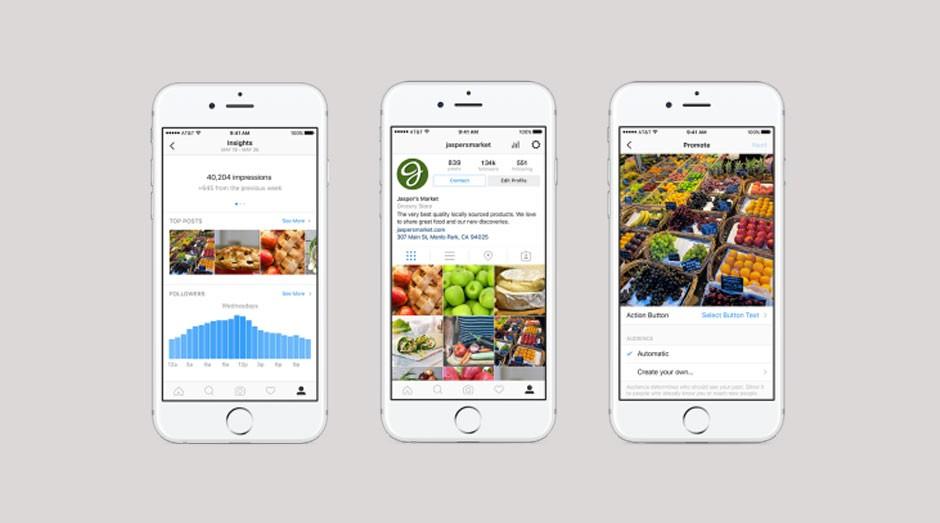 Instagram para empresas: perfis novos, métricas e ferramenta de promoção (Foto: Divulgação)