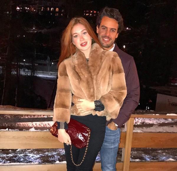 Marina Ruy Barbosa com o noivo (Foto: Reprodução/Instagram)