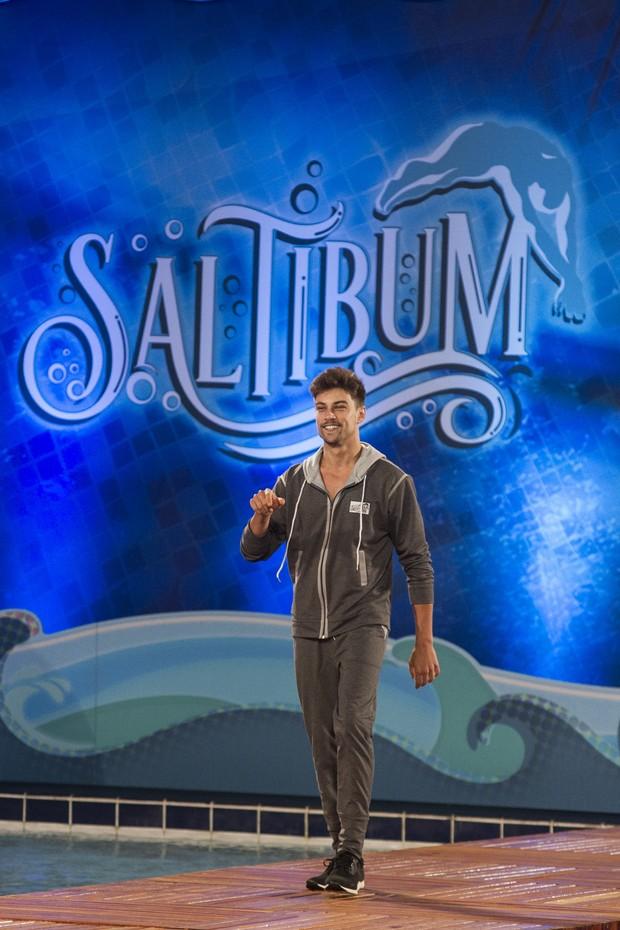 Raphael Sander no Saltibum  (Foto: Globo/Mauricio Fidalgo)