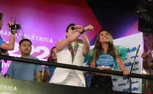Psy e Sabrina Sato (Foto: Dilson Silva / AgNews)