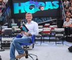 Serginho Groisman no palco do 'Altas horas' | Zé Paulo Cardeal/TV Globo