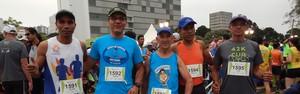Atletas de Agudos participam de Maratona Internacional de Curitiba