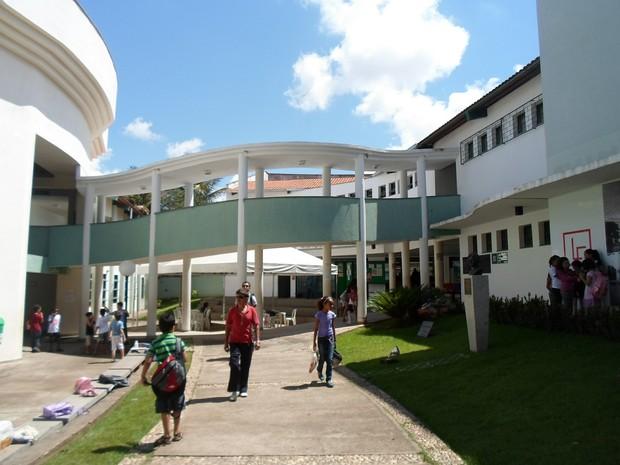 Conservstório Lorenzo Fernandez (Foto: Cida Santana/G1)