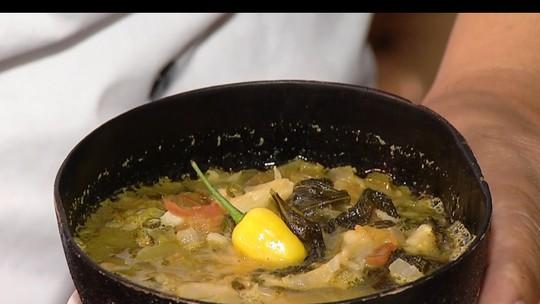 Chef ensina a preparar caldo de pirarucu que dá energia para a folia