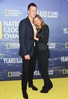 Gisele Bündchen troca carinhos com Tom Brady em Nova York