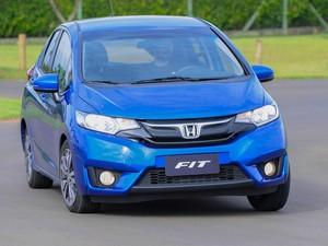 Honda Fit 2015 (Foto: Flavio Moraes / G1)