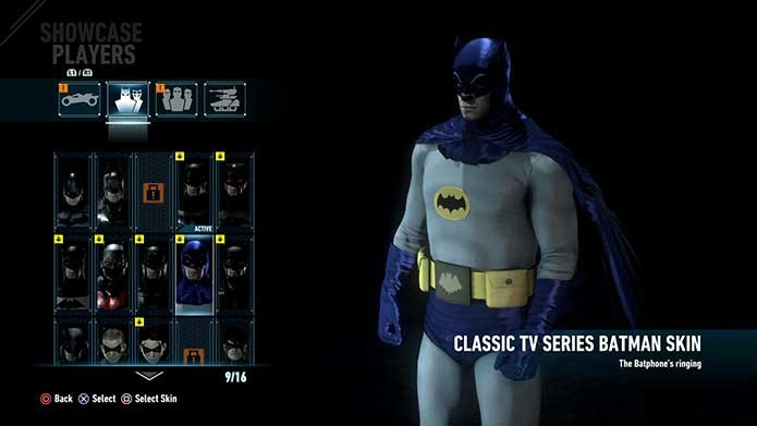O Homem-Morcego do antigo seriado de TV (Foto: Reprodução/Felipe Vinha)