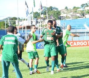 Fabrício Carvalho, cabofriense x friburguense (Foto: Andreia Maciel)