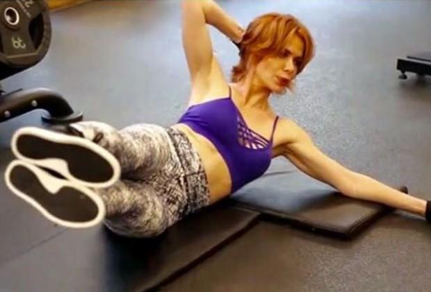 Babi Xavier coloca boa forma em dia com atividades físicas (Foto: Reprodução/Instagram)
