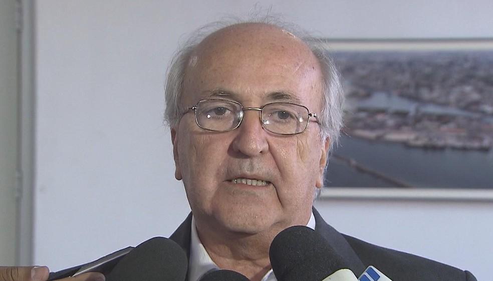 Carlos Vilar atua no setor portuário desde os 28 anos de idade (Foto: Reprodução/TV Globo)