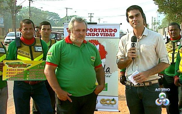 Campanha leva busca e leva doadores de sangue (Foto: Bom Dia Amazônia )