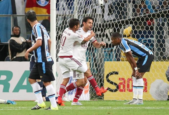Fred gol Fluminense (Foto: Marcos Cunha / Ag. Estado)