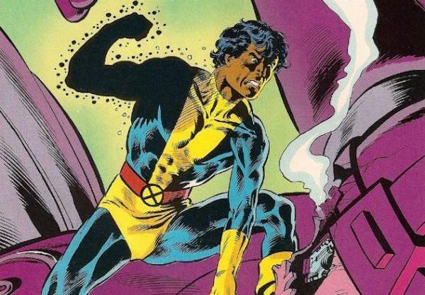 O mutante brasileiro Mancha Solar em uma HQ antiga da Marvel Comics (Foto: Reprodução)