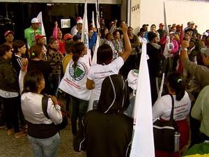 MST ocupa sede do Ministério da Fazenda em Belo Horizonte (Foto: Reprodução)