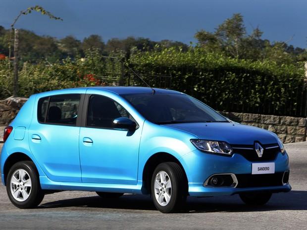 Novo Renault Sandero (Foto: Divulgação)