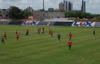 Treze segue treinando no Presidente Vargas e tem o retorno de dois atletas