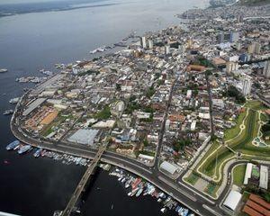 Capital do Amazonas teve o fornecimento de energia interrompido (Foto: Clóvis Miranda/Semcom)