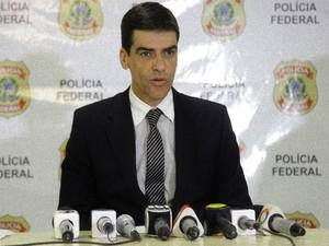 Superintendente da PF, Alexandre Saraiva (Foto: Flora Dolores/O Estado)